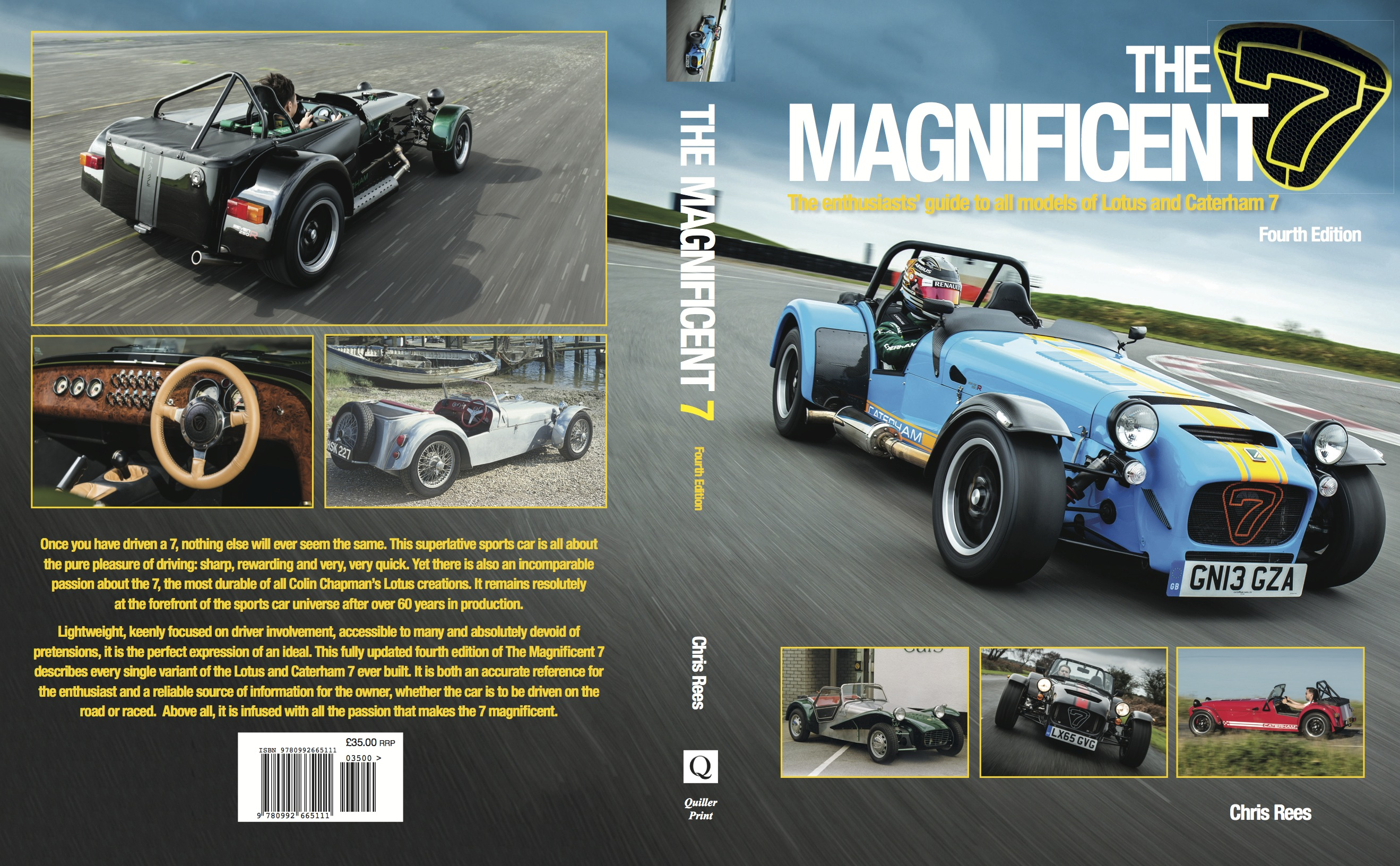 Magnificent 7 Caterham Lotus Book